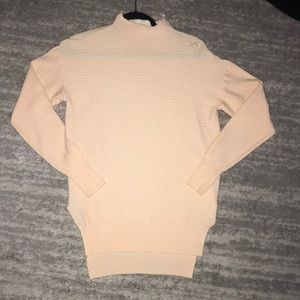 Peachy textured turtle neck from Missguided size S